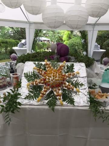 Anniversaire de Noélie à la table d'hôte à Castres La Vivarié