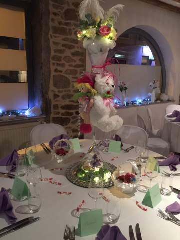 Un mariage romantique dans un restaurant à Lyon